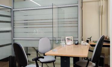 Μπορείτε καλύψετε μεγαλύτερο χώρο ή περισσότερες θέσης εργασίας , απλά προσθέστε όσα προστατευτικά χρειάζονται.